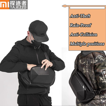 Xiaomi TAJEZZO POLI Polyhedron Crossbody Kuprinė Vyrų Anti-theft Peties